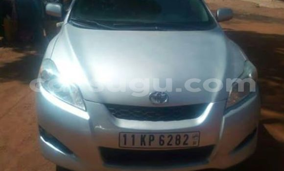 Acheter Occasion Voiture Toyota Matrix Gris à Ouagadougou, Burkina-Faso