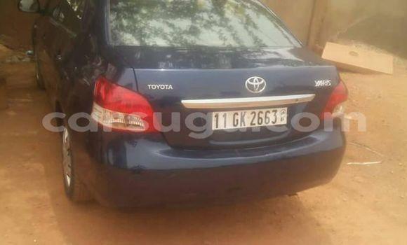Acheter Occasion Voiture Toyota Yaris Bleu à Ouagadougou, Burkina-Faso