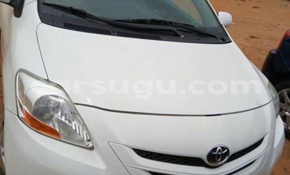 Acheter Occasion Voiture Toyota Yaris Blanc à Ouagadougou, Burkina-Faso