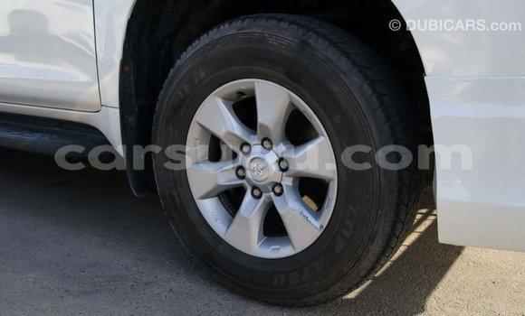 Acheter Importé Voiture Toyota Prado Blanc à Import - Dubai, Burkina-Faso