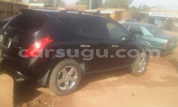 Acheter Occasion Voiture Nissan Murano Noir à Ouagadougou, Burkina-Faso