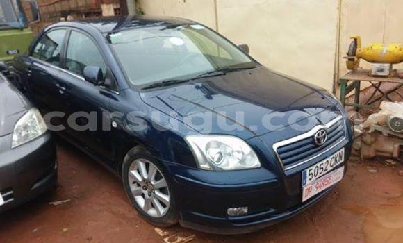 Acheter Neuf Voiture Toyota Avensis Noir à Ouagadougou, Burkina-Faso