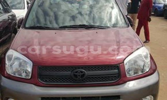 Acheter Neuf Voiture Toyota RAV4 Rouge à Ouagadougou au Burkina-Faso