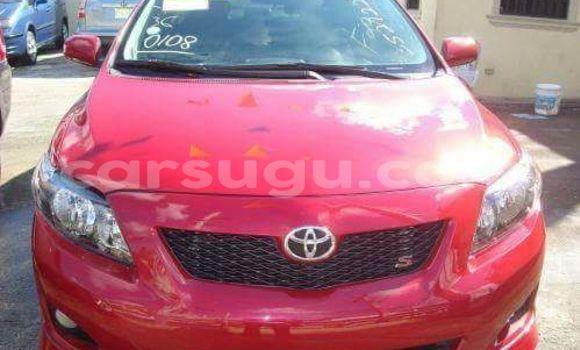 Acheter Occasion Voiture Toyota Corolla Rouge à Ouagadougou, Burkina-Faso