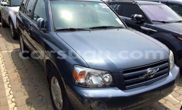 Acheter Neuf Voiture Toyota Highlander Bleu à Ouagadougou au Burkina-Faso