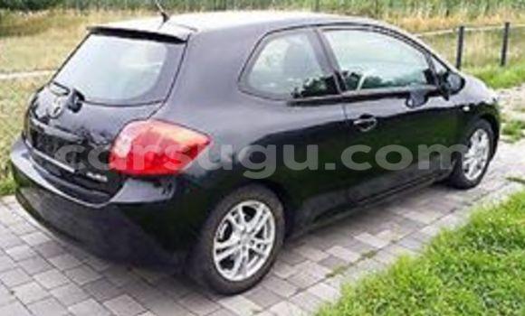 Acheter Neuf Voiture Toyota Auris Noir à Ouagadougou au Burkina-Faso