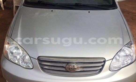 Acheter Occasion Voiture Toyota Corolla Gris à Ouagadougou au Burkina-Faso