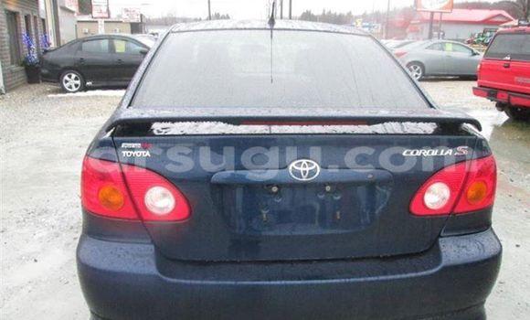 Acheter Occasions Voiture Toyota Corolla Bleu à Ouagadougou, Burkina-Faso
