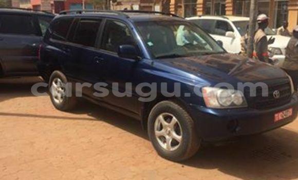 Acheter Neuf Voiture Toyota Highlander Bleu à Ouagadougou, Burkina-Faso