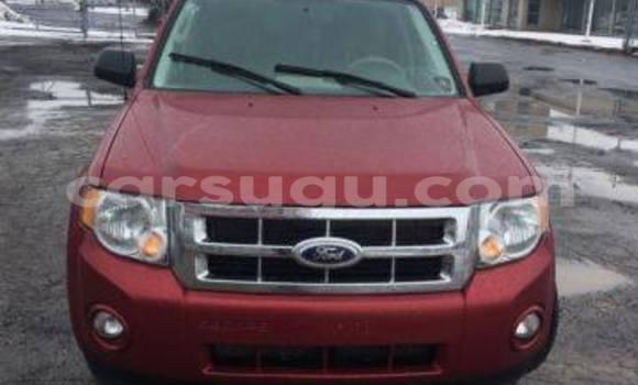 Acheter Neuf Voiture Ford Club Wagon Rouge à Ouagadougou au Burkina-Faso