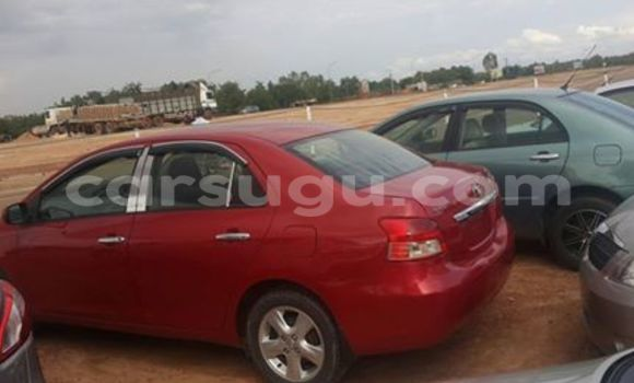 Acheter Neuf Voiture Toyota Yaris Rouge à Ouagadougou au Burkina-Faso