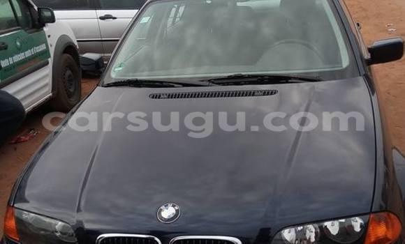 Acheter Occasion Voiture BMW 3-Series Noir à Ouagadougou au Burkina-Faso