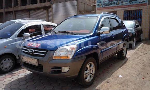 Acheter Voiture Kia Sportage Bleu à Ouagadougou en Burkina-Faso
