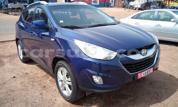 Acheter Occasion Voiture Hyundai ix35 Bleu à Ouagadougou au Burkina-Faso