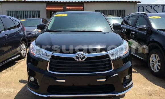 Acheter Occasion Voiture Toyota Highlander Noir à Ouagadougou au Burkina-Faso