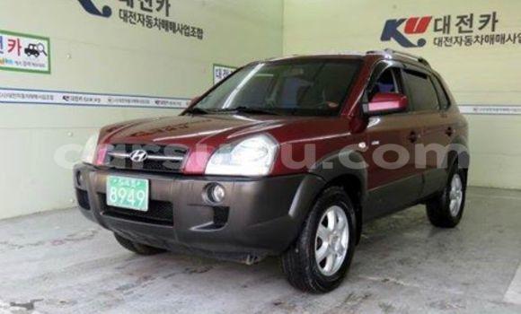 Acheter Neuf Voiture Hyundai Tucson Rouge à Ouagadougou au Burkina-Faso