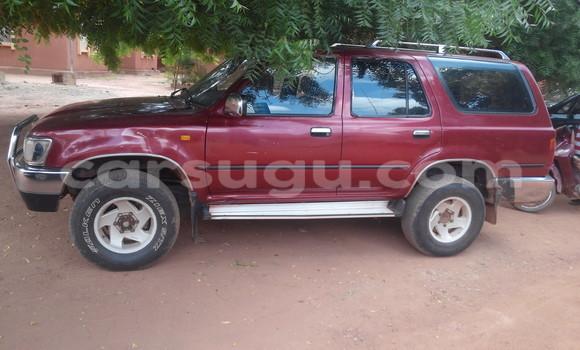Acheter Occasion Voiture Toyota 4Runner Rouge à Ouagadougou au Burkina-Faso