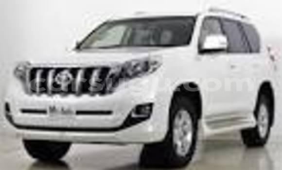 Acheter Neuf Voiture Toyota Prado Blanc à Ouagadougou au Burkina-Faso