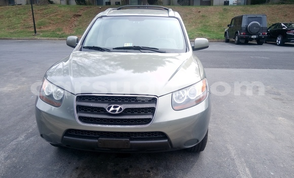 Acheter Occasion Voiture Hyundai Santa Fe Gris à Ouagadougou au Burkina-Faso