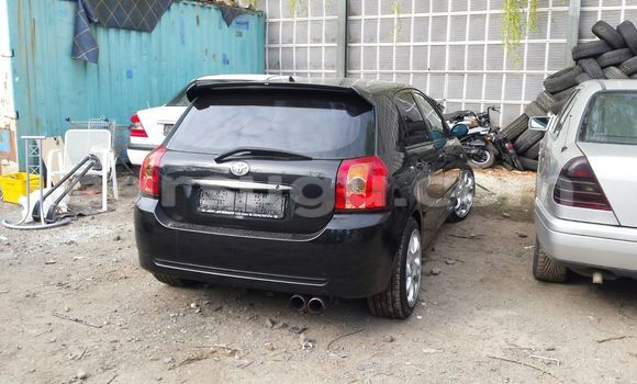 Acheter Occasion Voiture Toyota Corolla Noir à Ouagadougou au Burkina-Faso