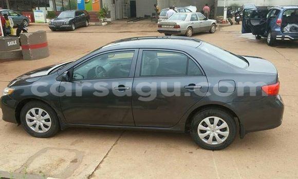 Acheter Voiture Toyota Corolla Noir à Ouagadougou en Burkina-Faso