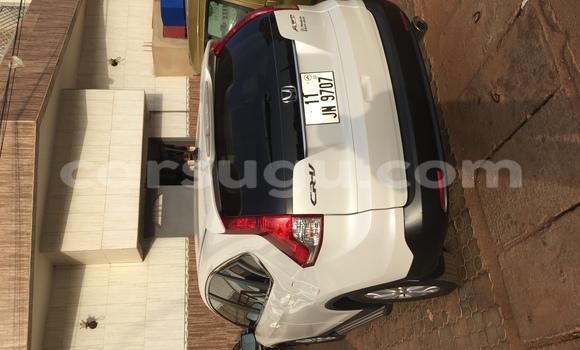 Acheter Occasion Voiture Honda CR-V Blanc à Ouagadougou au Burkina-Faso