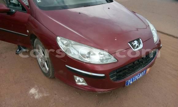 Acheter Neuf Voiture Peugeot 407 Rouge à Ouagadougou au Burkina-Faso