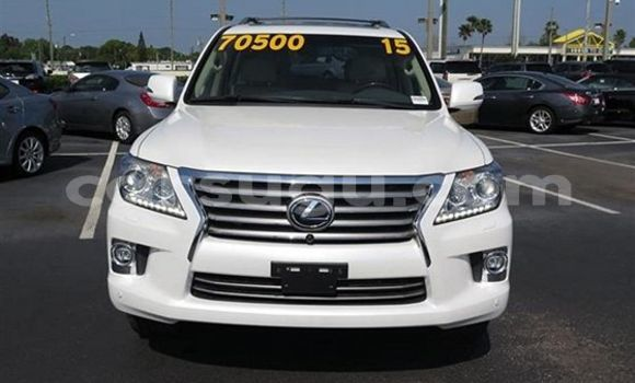 Acheter Occasion Voiture Lexus LX Blanc à Koudougou au Burkina-Faso