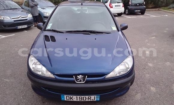 Acheter Occasion Voiture Peugeot 206 Bleu à Ouagadougou au Burkina-Faso