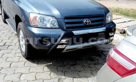 Acheter Neuf Voiture Toyota Highlander Gris à Bobo Dioulasso au Burkina-Faso