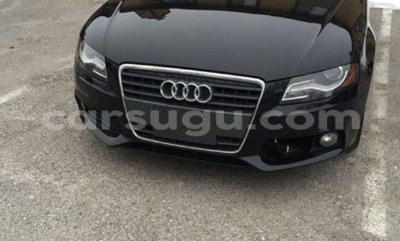 Acheter Occasion Voiture Audi A4 Noir à Ouagadougou au Burkina-Faso