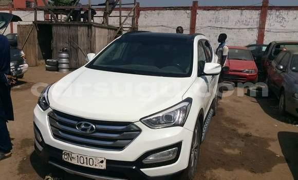 Acheter Occasion Voiture Hyundai Santa Fe Blanc à Ouagadougou au Burkina-Faso