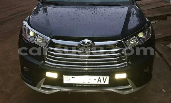 Acheter Occasion Voiture Toyota 4Runner Noir à Ouagadougou, Burkina-Faso