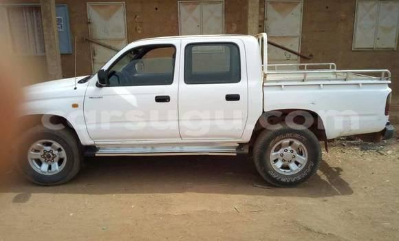 Acheter Occasion Voiture Toyota Hilux Blanc à Ouagadougou au Burkina-Faso