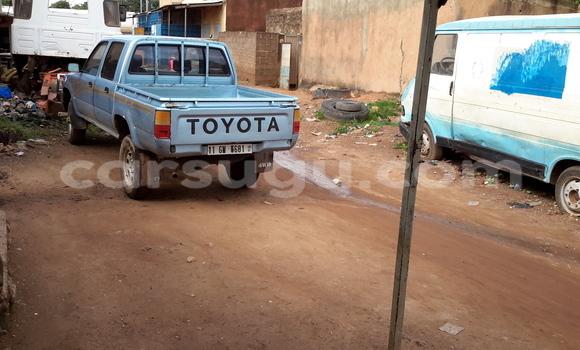 Acheter Occasion Utilitaire Toyota Pickup Bleu à Ouagadougou au Burkina-Faso
