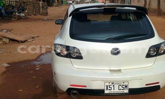 Acheter Occasion Voiture Mazda 3 Blanc à Ouagadougou au Burkina-Faso
