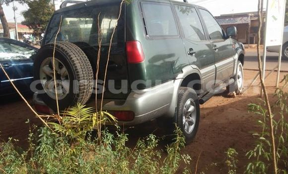 Acheter Occasion Voiture Nissan Terrano Vert à Ouagadougou au Burkina-Faso