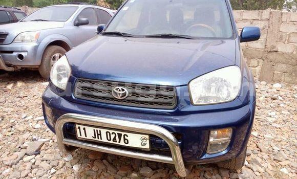 Acheter Occasion Voiture Toyota RAV4 Bleu à Ouagadougou au Burkina-Faso