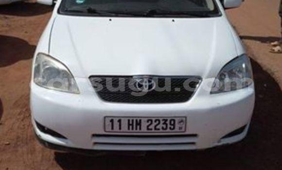 Acheter Occasions Voiture Toyota Corolla Blanc à Ouagadougou au Burkina-Faso