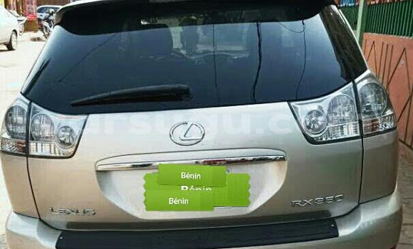 Acheter Occasions Voiture Lexus RX 350 Beige à Ouagadougou au Burkina-Faso