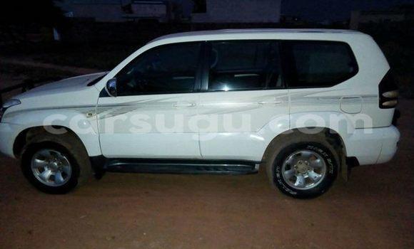 Buy Used Toyota Land Cruiser Prado White Car in Ouagadougou in Burkina Faso
