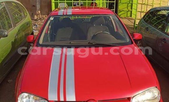 Buy Used Volkswagen Golf Red Car in Ouagadougou in Burkina Faso
