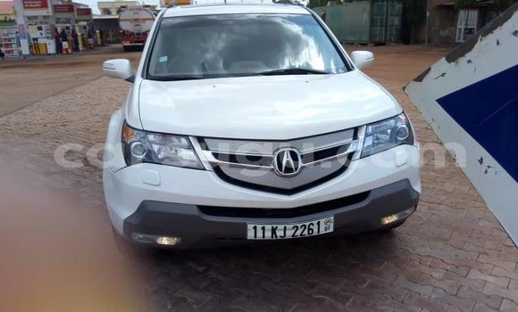Buy Used Acura MDX White Car in Ouagadougou in Burkina Faso