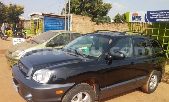 Acheter Importé Voiture Hyundai Santa Fe Noir à Ouagadougou, Burkina-Faso