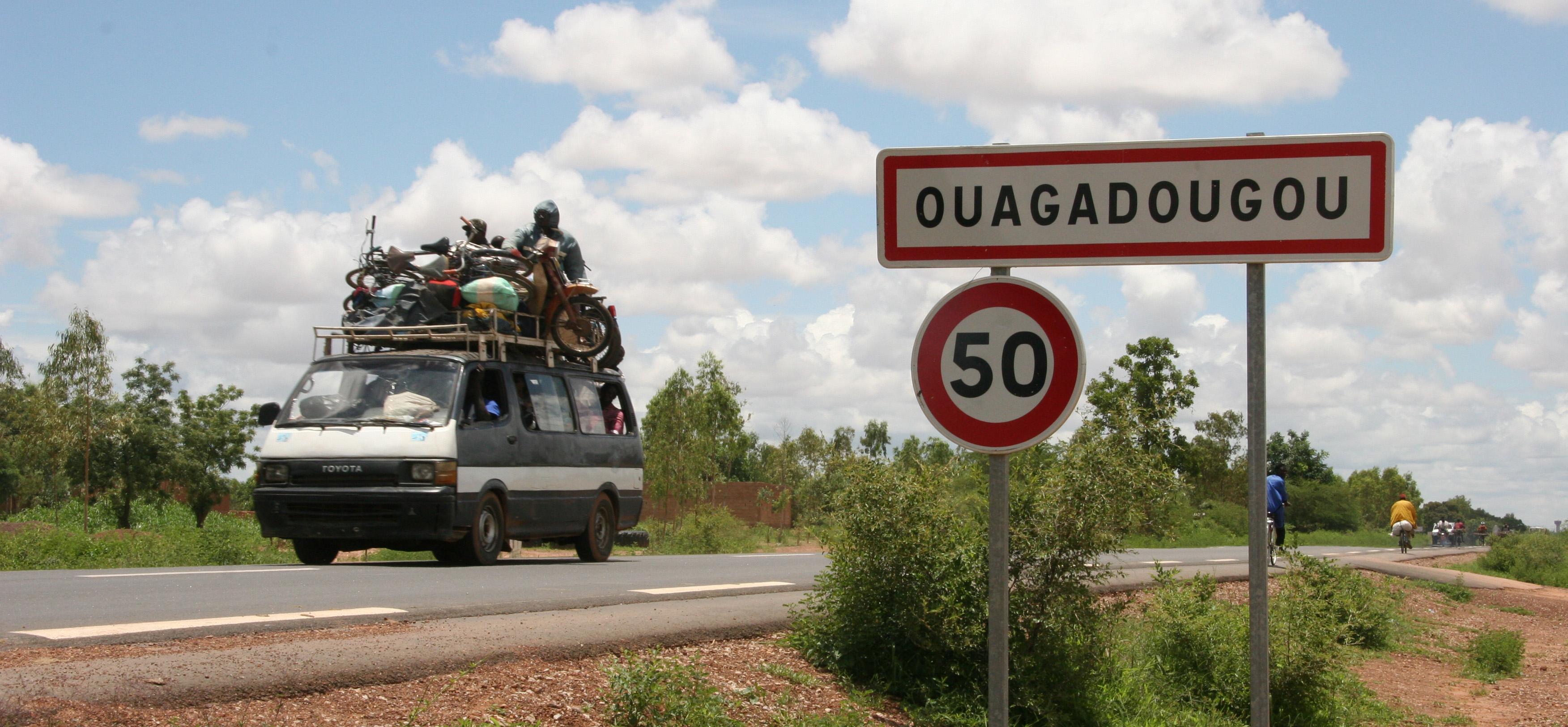 Ouagadougou road